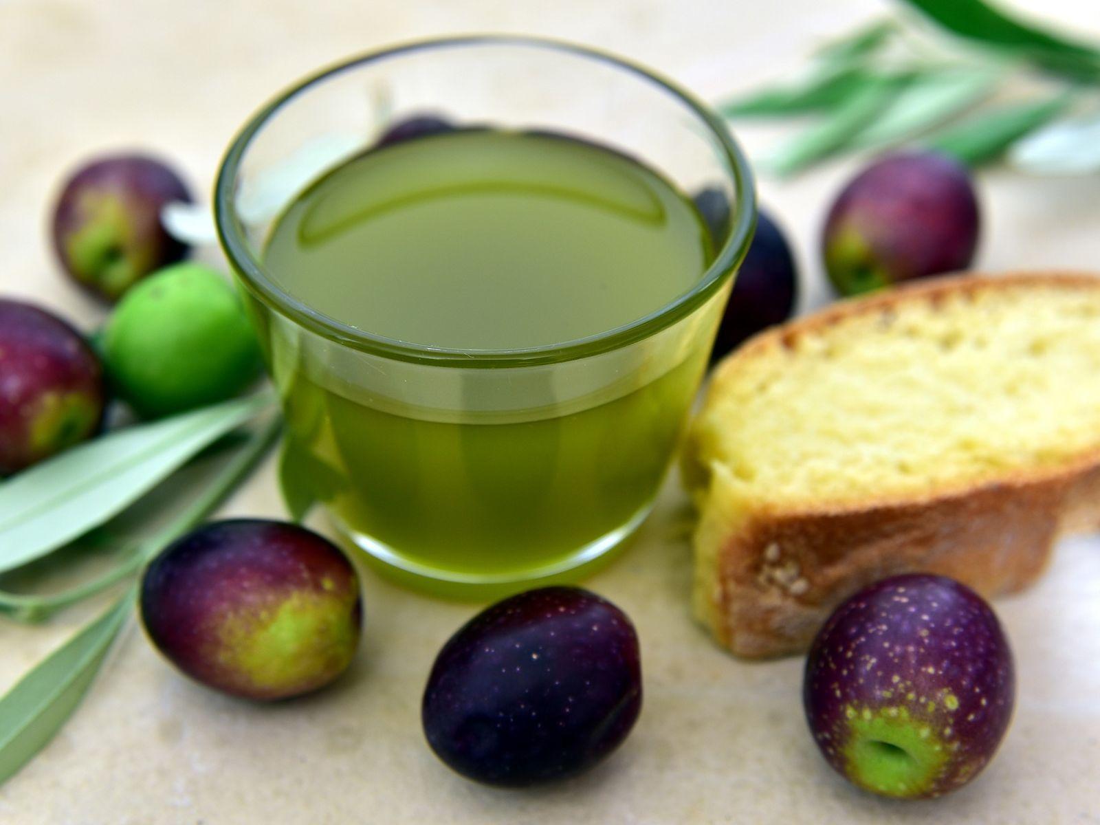 Spanish olive oil tasting cup